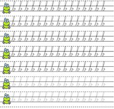 Handwriting Worksheets For Kids, Handwriting Practice Sheets, Learn Handwriting, Cursive Handwriting, Alphabet Writing Practice, Learning Letters, Preschool Learning, Teaching, Cursive Small Letters