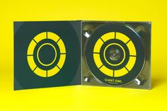 CD case by Alphabetical for independent production company Giant Owl