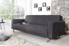 meble - sofy i szezlongi-Sofa rozkładana Florida Grey 215cm (Z35845)