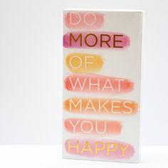 Just Add Watercolor® Canvas, Happy Watercolor Canvas, Watercolor Paintings, Watercolour, What Makes You Happy, Are You Happy, Mixed Media Art, Cosmos, Flamingo, Cricket