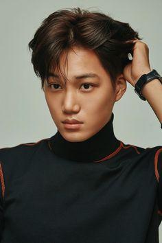 Exo Kai for Esquire Magazine Exo Kai, Baekhyun Chanyeol, Luhan And Kris, Kaisoo, K Pop, Spirit Fanfic, Jimin, Exo Korean, Korean Guys