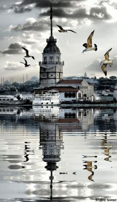 İstanbul-Tukey...(Kız Kulesi)