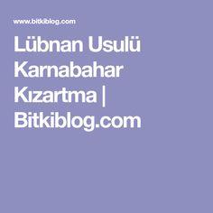 Lübnan Usulü Karnabahar Kızartma   Bitkiblog.com