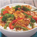 Sesame Chicken Stir-Fry #chicken #sesamechicken #stirfry #veggies #recipe