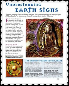 Understanding Earth Signs