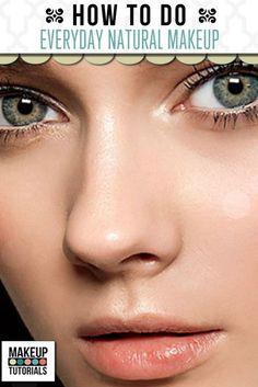 everyday makeup, how to do makeup, how to do your makeup, how to put makeup on, natural eye makeup
