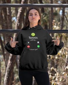 Tennis Is Calling And I Must Go T-Shirt shirts, apparel, posters are available at TeeChip. Tennis Uniforms, Tennis Shirts, Tennis Games, Tennis Tips, Serena Williams, Tennis Photography, Tennis Funny, Tennis World, Tennis Workout