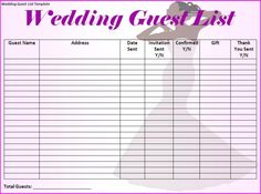 Phone Number Template To Do List Template  Wedding Stuff Ideas  Pinterest  Template .
