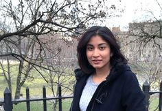 M.S. in Sustainability Management Student Divya Bendre.