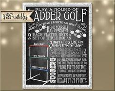 Ladder Golf Printable