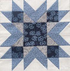 Big Block Quilts, Star Quilt Blocks, Star Quilts, Mini Quilts, Barn Quilt Patterns, Patchwork Quilt Patterns, Pattern Blocks, Vintage Quilts Patterns, Sampler Quilts