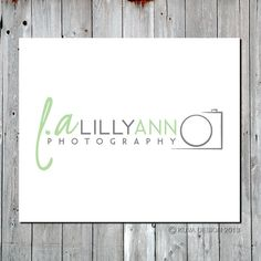 """simple photography logo... I wonder if I could use the """"o"""" and """"t"""" in my last name in the camera..."""