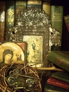A Cabinet of Curiosities is a must to house all the random trinkets and musty old books I've collected over the years.