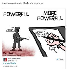 After Charlie Hebdo: Powerful, more powerful by McLeod's