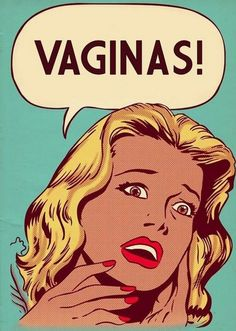 vaginas, comics, roy lichenstein, parody