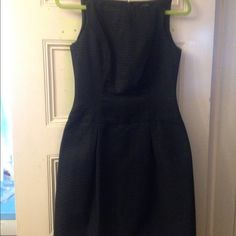 """Little black dress Great black dress. Looks great on. The waist has a seam at it and hits perfectly. There is a black on black pattern that I tried to capture when taking picture of tag. It is a size too small for me or it would stay in closet. Hits about 2-3 above knee. I am 5'5"""". Offers respected and accepted. American living Dresses Mini"""