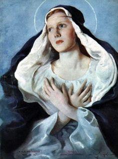 Maria Szantho: Virgen María.