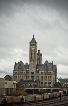 Union Station Hotel in Nashville.  Marla and I stayed here and it was incredible!!