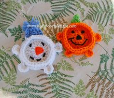 Posh Pooch Designs Dog Clothes: Pumpkin Coaster Crochet Pattern