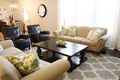 Bernhardt Whitfield sofa, Life on Virginia St.