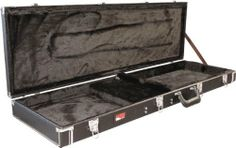 Gator GW-BASS Electric Guitar Case by Gator. $109.98. Deluxe wood case for bass guitars. Save 35% Off!