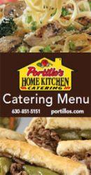 Portillos Gourmet Salad, Disney Bridal Showers, Italian Beef, Catering Menu, Fresh Pasta, Bbq Ribs, Family Meals, Home Kitchens, Chicago