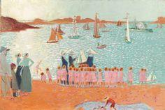 Maurice Denis (1870-1943), La Colonie de vacances, 1913, Huile sur toile, Beauvais, musée départemental de l'Oise ©ADAGP, 2013, RMNB Grand Palais © René Gabriel Ojéda