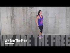"▶ Revelation Wellness-Faith Based Fitness- hillsong ""We Are The Free"" - YouTube"