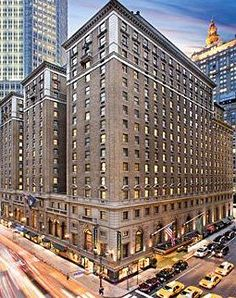 The Roosevelt Hotel, New York City. 2008 vakantie met Nic.