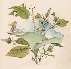 Thumbelina by Hans Christian Andersen, illustrated by Adrienne Adams, 1961.