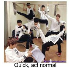 I don't think BTS knows the definition of normal