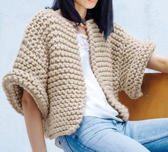 Women cardigan sweater wool knit jacket wool cardigan oversized cardigan sweater vest open cardigan hand knit cardigan neutral clothing gift – The Best Ideas Cardigan Outfits, Cardigan Sweaters For Women, Cardigans For Women, Jackets For Women, Women's Cardigans, Knitting Sweaters, Cardigan Fashion, Hand Knitting, Cardigan Au Crochet