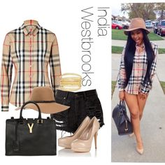 """India Westbrooks"" by endeyah on Polyvore"