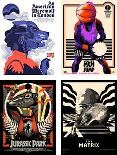 Alternative Movie Posters by We buy your kids aka w$yk