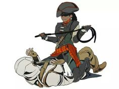 Aveline gets frisky with Connor!
