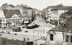 """Der Fotograf Carl Friedrich Mylius hat Frankfurt einen einzigartigen Schatz hinterlassen: Seine Aufnahmen aus dem 19. Jahrhundert gehören zu den wertvollsten, die es im Stadtarchiv gibt. Unser Fotograf Lukas Kreibig hat Mylius' Bilder """"nachfotografiert""""."""
