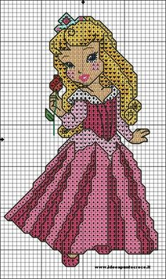 Schemi disney a punto croce: schemi baby principesse disney Cross Stitch Disney, Disney Cross Stitch Patterns, Cross Stitch For Kids, Cross Stitch Art, Cross Stitch Alphabet, Cross Stitch Designs, Cross Stitching, Cross Stitch Embroidery, Stitch Cartoon