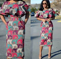 A collection of the best and Latest Casual African Ankara Styles. These casual ankara styles and casual ankara designs were specifically selected for your taste of casual ankara styles African Fashion Designers, Latest African Fashion Dresses, African Print Dresses, African Print Fashion, Africa Fashion, African Dress, African Attire, African Wear, African Women