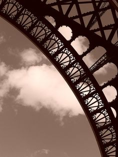 Eiffel Tower Arch Detail | Flickr - Photo Sharing!