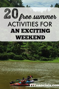 Free Summer Activities For An Exciting Free Weekend. Moving to a new city can be expensive, therefore, the choices and options are a little bit more limited for me and anyone else who wants to live on a frugal budget.