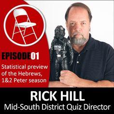 The TeenBibleQuiz Podcast - Ep 01 - The Statistics of Hebrews, Peter (w/ Rick Hill) 2 Peter, Statistics, Bible, Teen, App, Biblia, Apps, Big Data