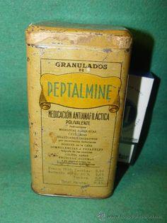 PEPTALMINE - LATA FARMACIA - REG.SAN. 1926 - LABORATORIO JUAN MARTIN - MADRID -