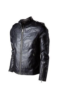 Batman Arkham Knight PU jacket. Niiiiiiiiiice....... yowza.