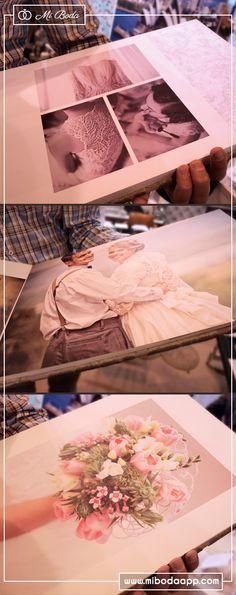 Crea el álbum más original para el día de tu boda con #admiradosfotografia