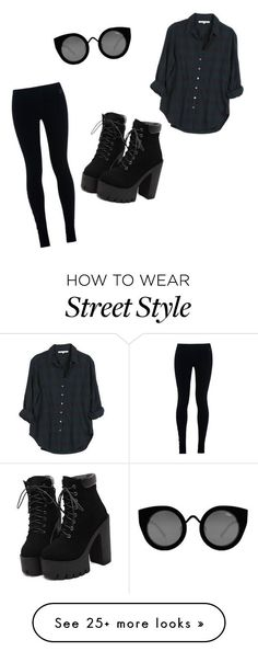"""street style"" by bettyraven111 on Polyvore featuring Xirena, NIKE and Quay"