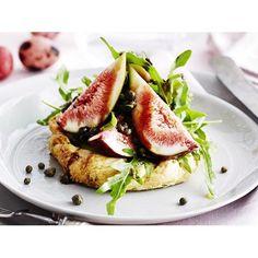 Ricotta tarts with figs recipe