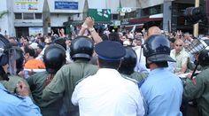 Intervention policière contre les manifestants contre la réforme des retraites - Médias 24