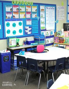 We're a few weeks in and my room is finally coming together enough to give you all a little classroom tour. Each year I move things around a little and organize a bit more. I've learned not to stress myself out by trying to have everything done before the first day of school.  I've finally had a chance …
