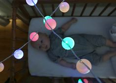 #DIYReady soft colored lights perfect for the nursery