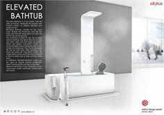 ElevatedBathtub1 易合设计2012红点奖作品 Elevated Bathtub无障碍浴缸